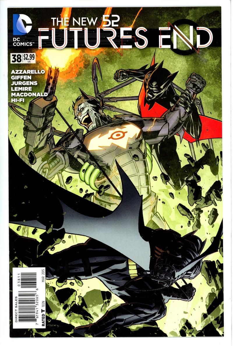New 52 Futures End 38