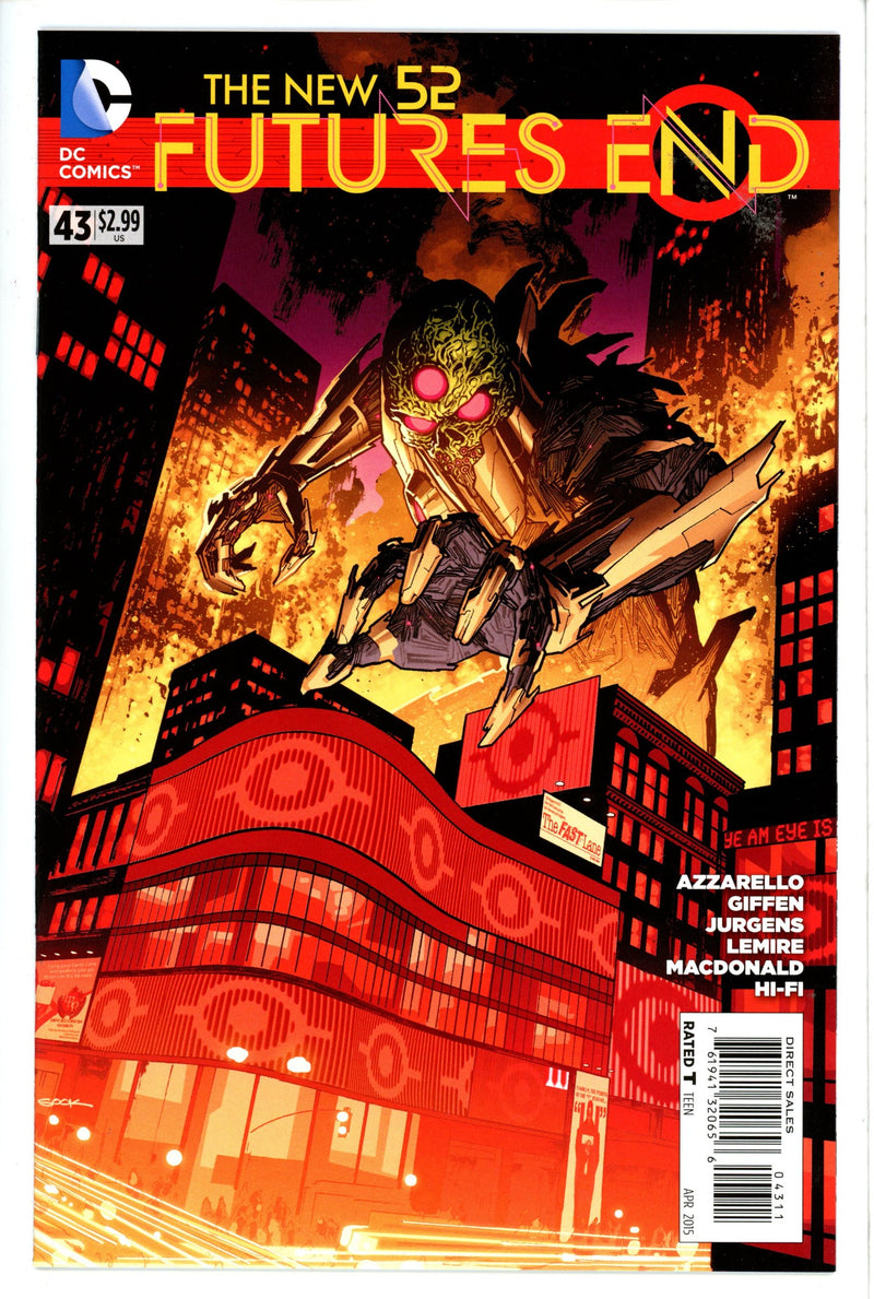 New 52 Futures End 43