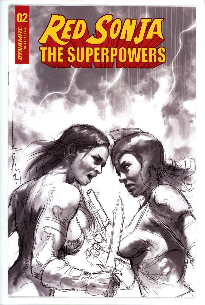 Red Sonja the Superpowers 2 Parrillo Variant-Dynamite-CaptCan Comics Inc
