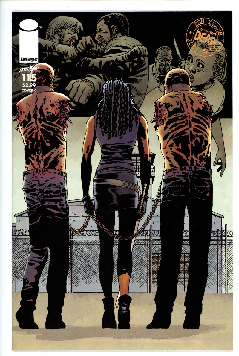Walking Dead 115 Variant