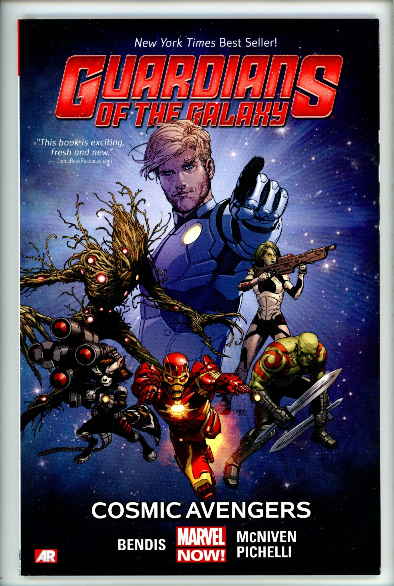 Guardians of the Galaxy Cosmic Avengers Vol 1 TP