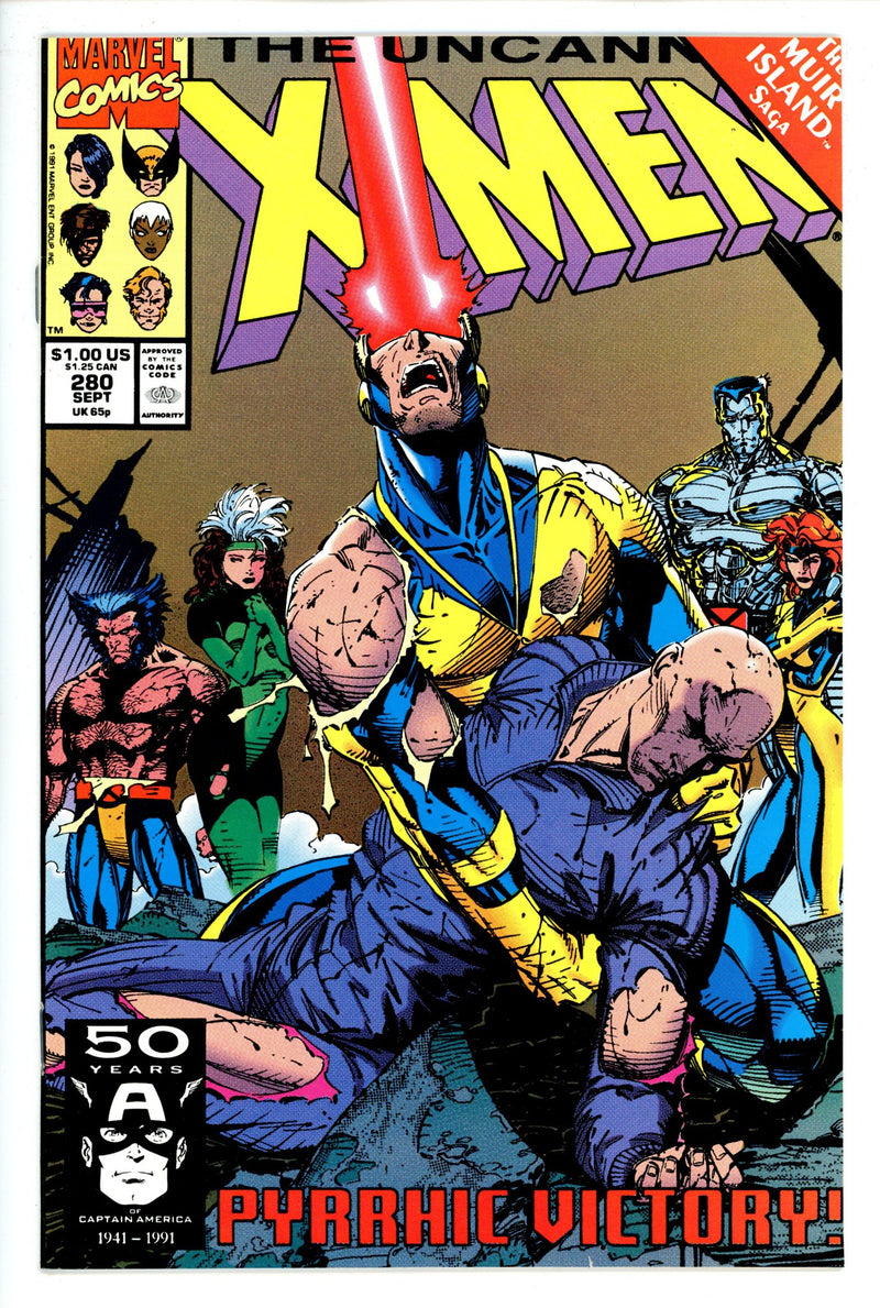The Uncanny X-Men Vol 1 280