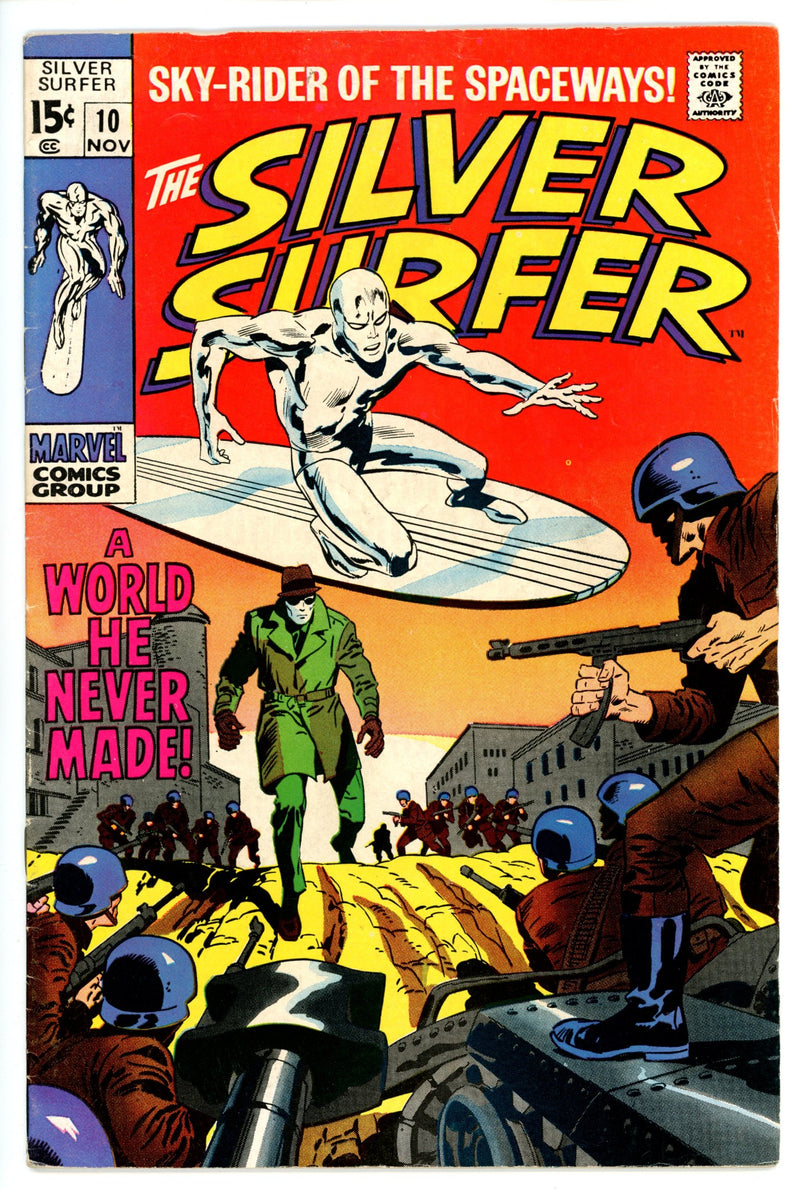 Silver Surfer Vol 1 10  F/VF