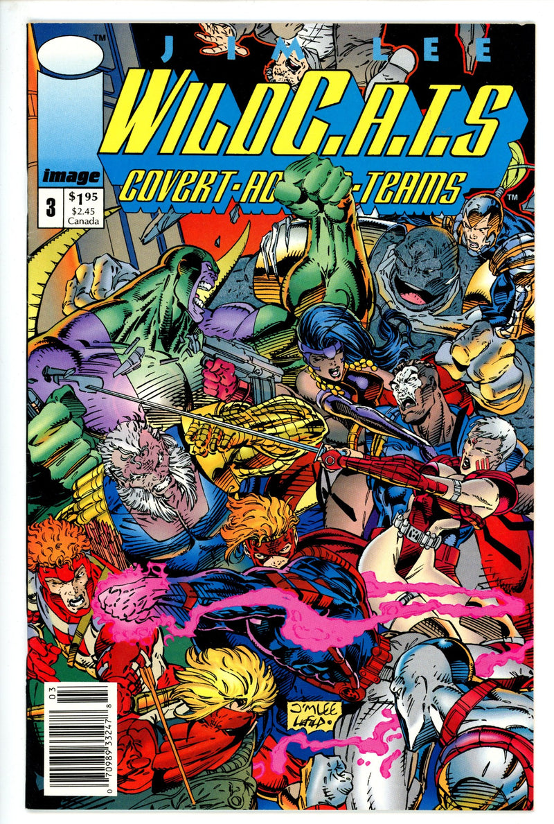 WildC.A.T.S: Covert Action Teams Vol 1 3 Newsstand