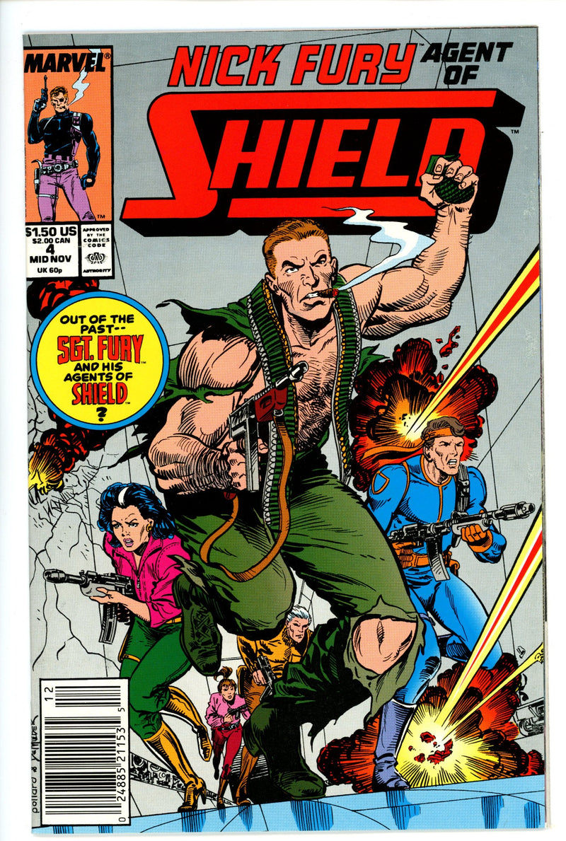 Nick Fury Agent of Shield Vol 4 4 Newsstand
