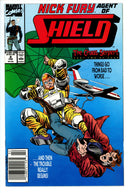 Nick Fury Agent of Shield Vol 4 8 Newsstand