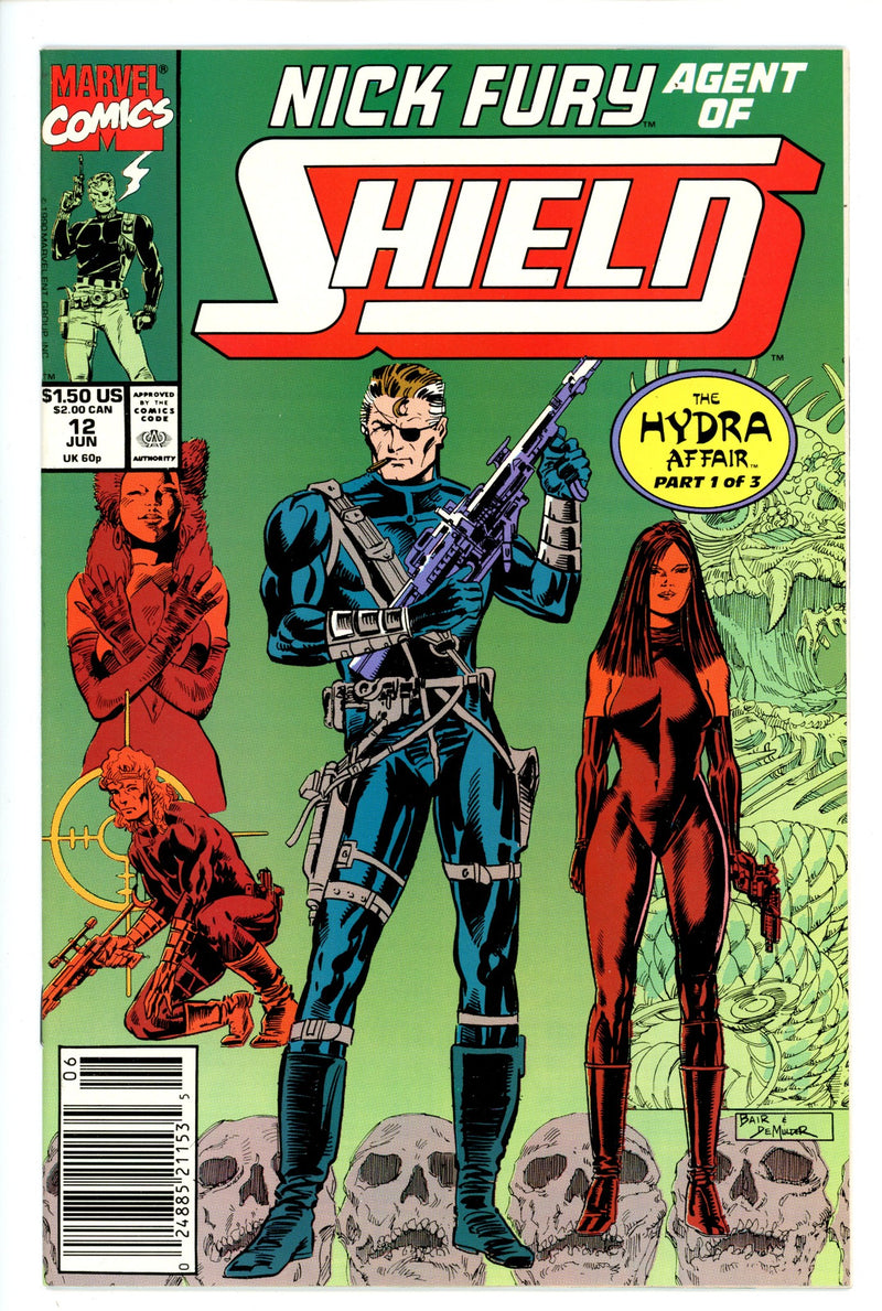 Nick Fury Agent of Shield Vol 4 12 Newsstand