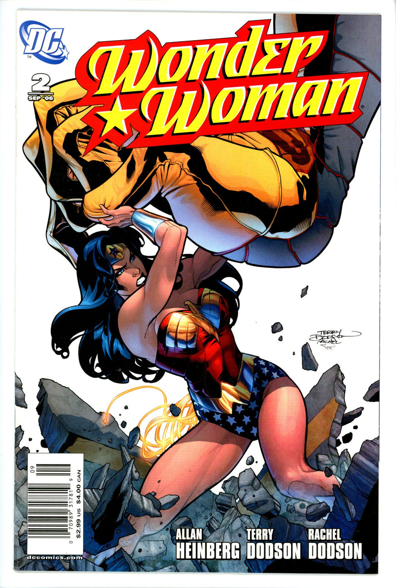 Wonder Woman Vol 3 2 Newsstand FN-DC-CaptCan Comics Inc