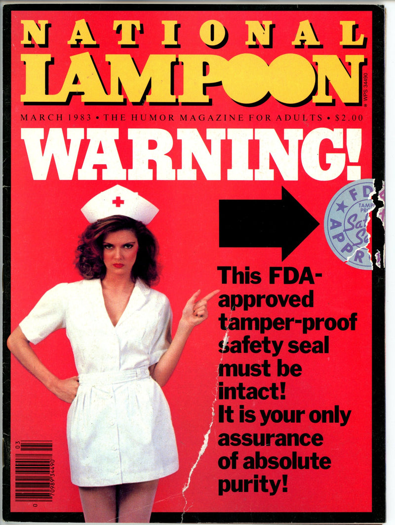 National Lampoon Mar 1983