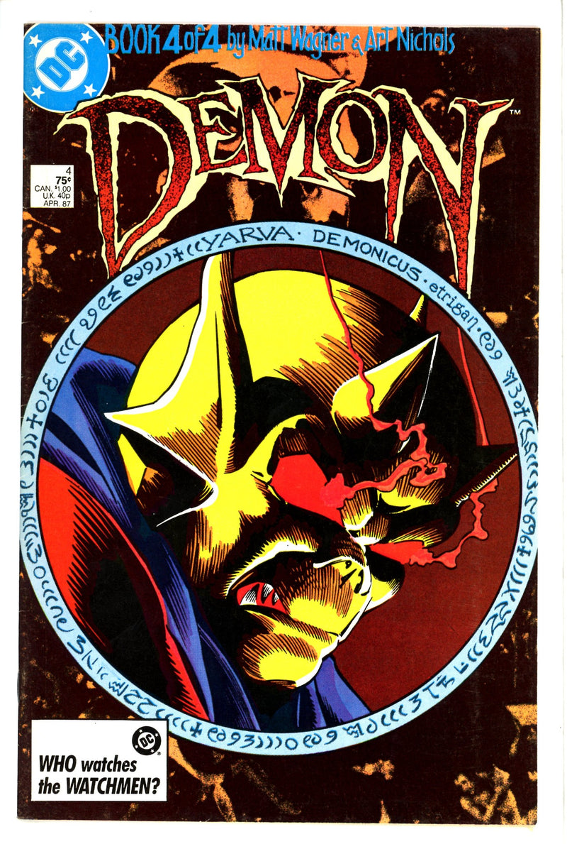 The Demon Vol 2 4-DC-CaptCan Comics Inc