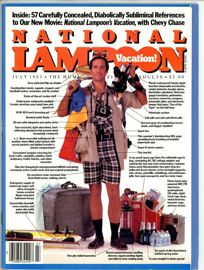 National Lampoon July 1983