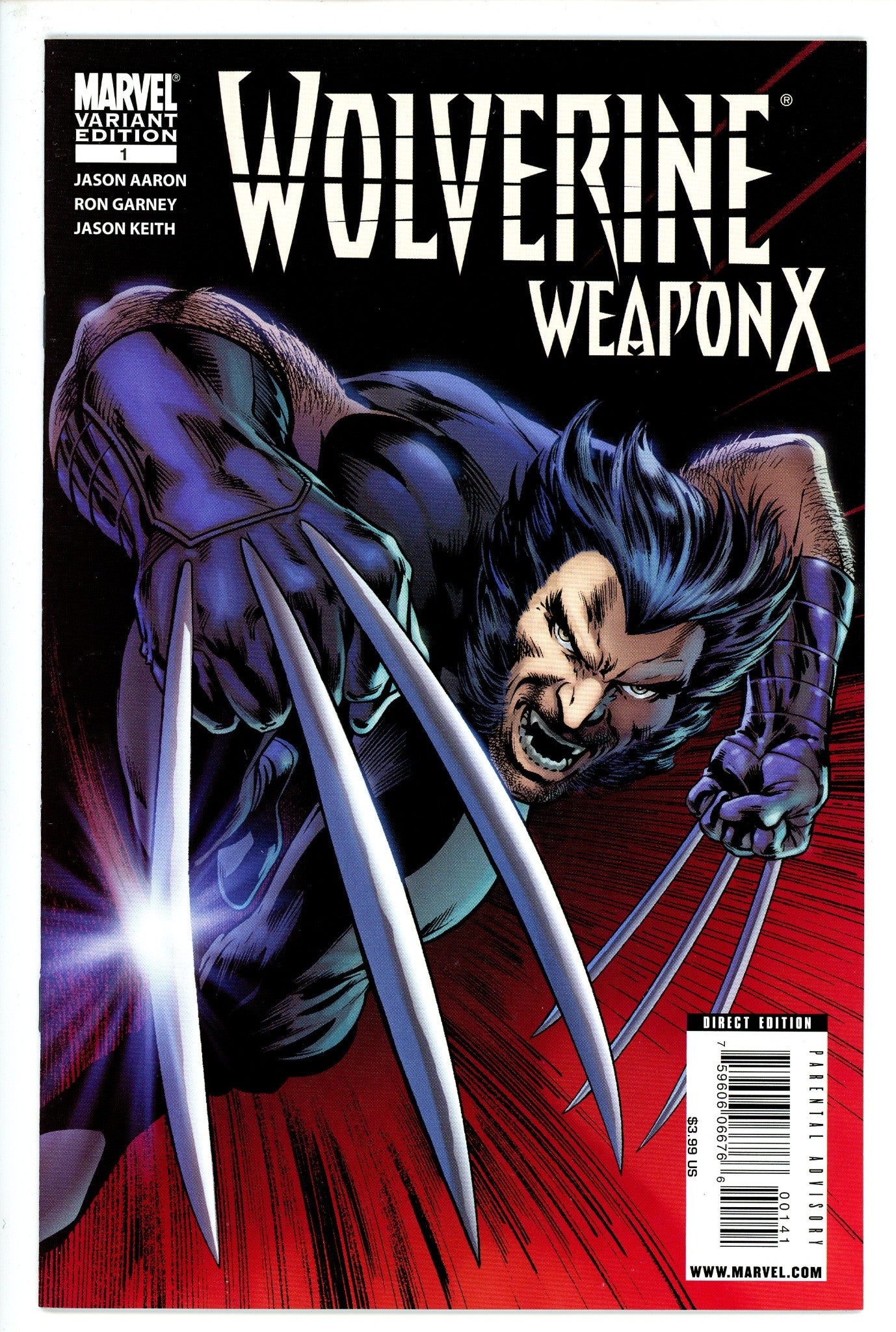 Wolverine Weapon X Vol 2 1 Davis Variant