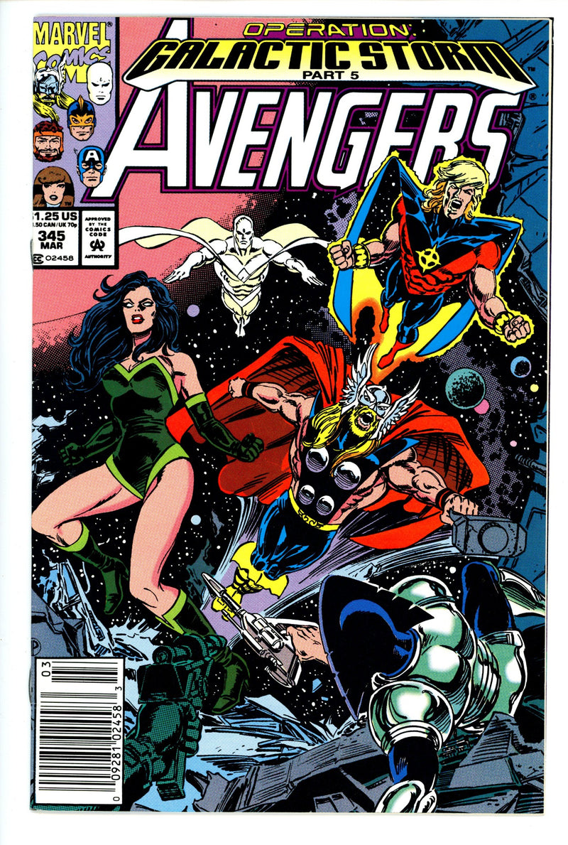 Avengers Vol 1 345 Newsstand
