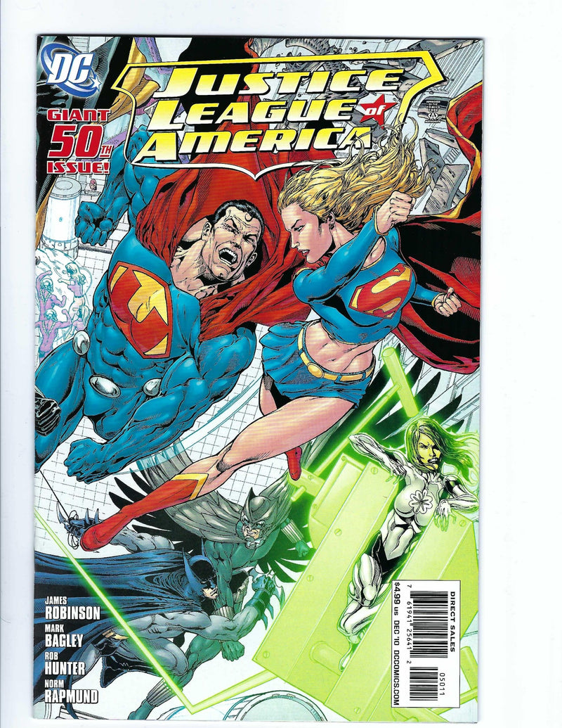 Justice League of America Vol 2 50