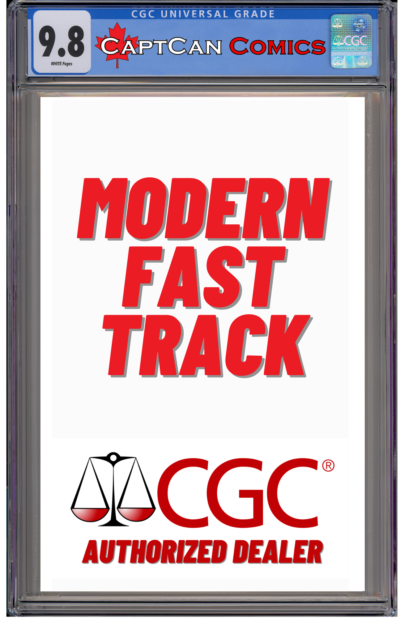 CGC MODERN FAST TRACK SUBMISSION