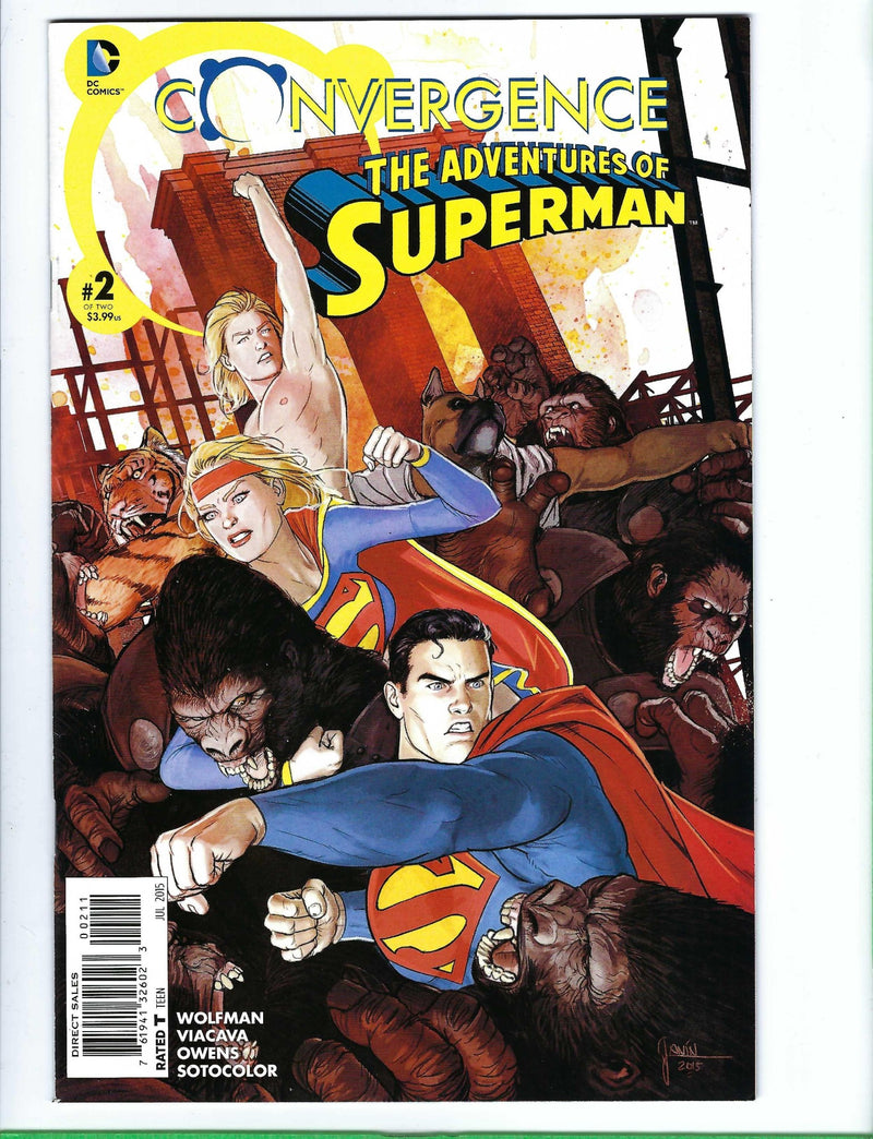 Convergence The Adventures of Superman 2