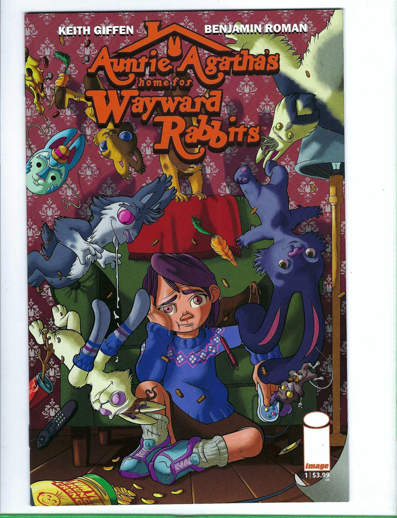 Auntie Agathas home for Wayward Rabbits 1