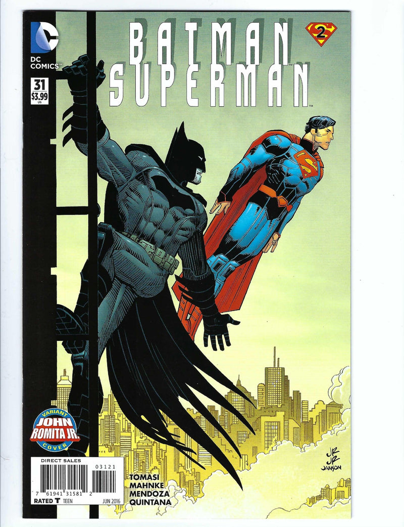 Batman / Superman 31 Variant