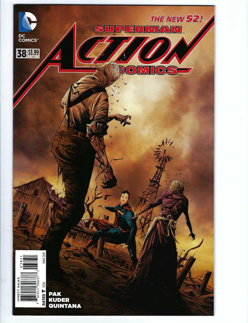 Action Comics Vol 2 38 Variant