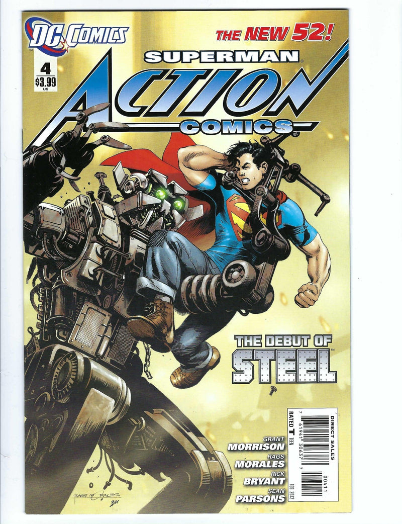 Action Comics Vol 2 4