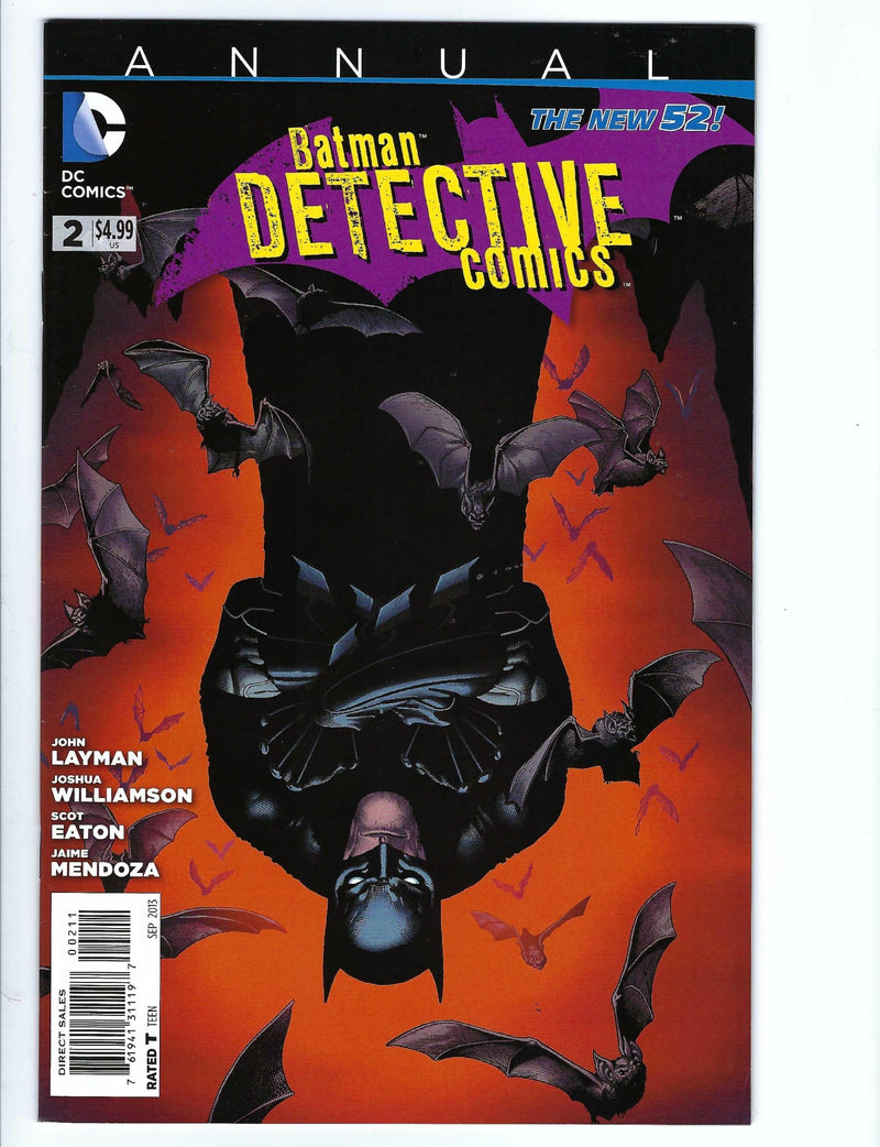 Detective Comics Vol 2 Annual 2-DC-CaptCan Comics Inc