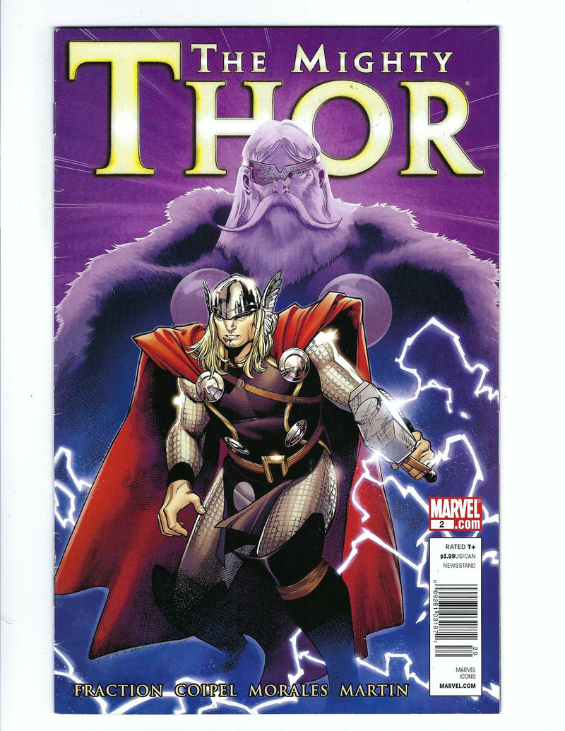 The Mighty Thor Vol 1 2 Variant