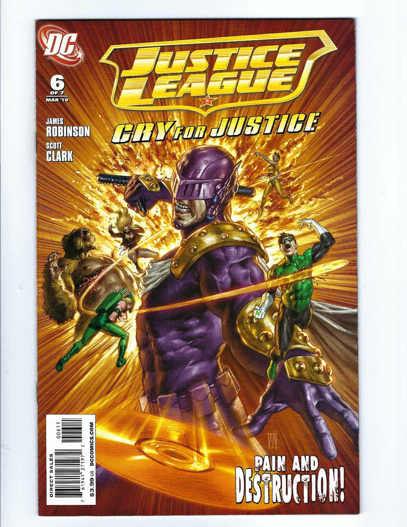 Justice League Cry For Justice 6