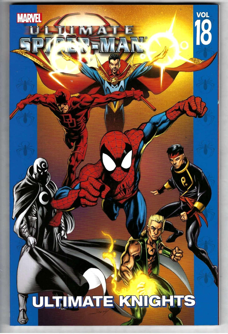 Ultimate Spider-Man Vol 18 Ultimate Knights