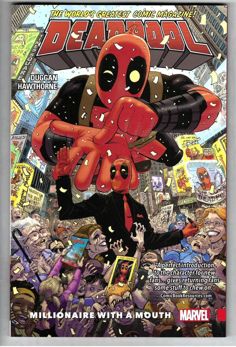 Deadpool Worlds Greatest Millionaire With a Mouth Vol 1
