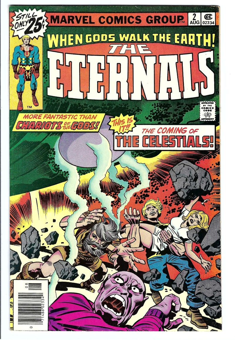 Eternals Vol 1 2 VF+