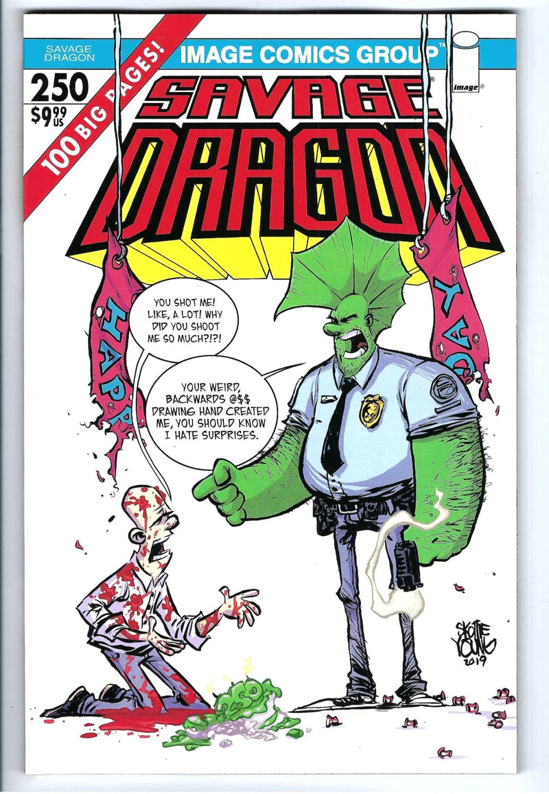 Savage Dragon Vol 2 250 Variant