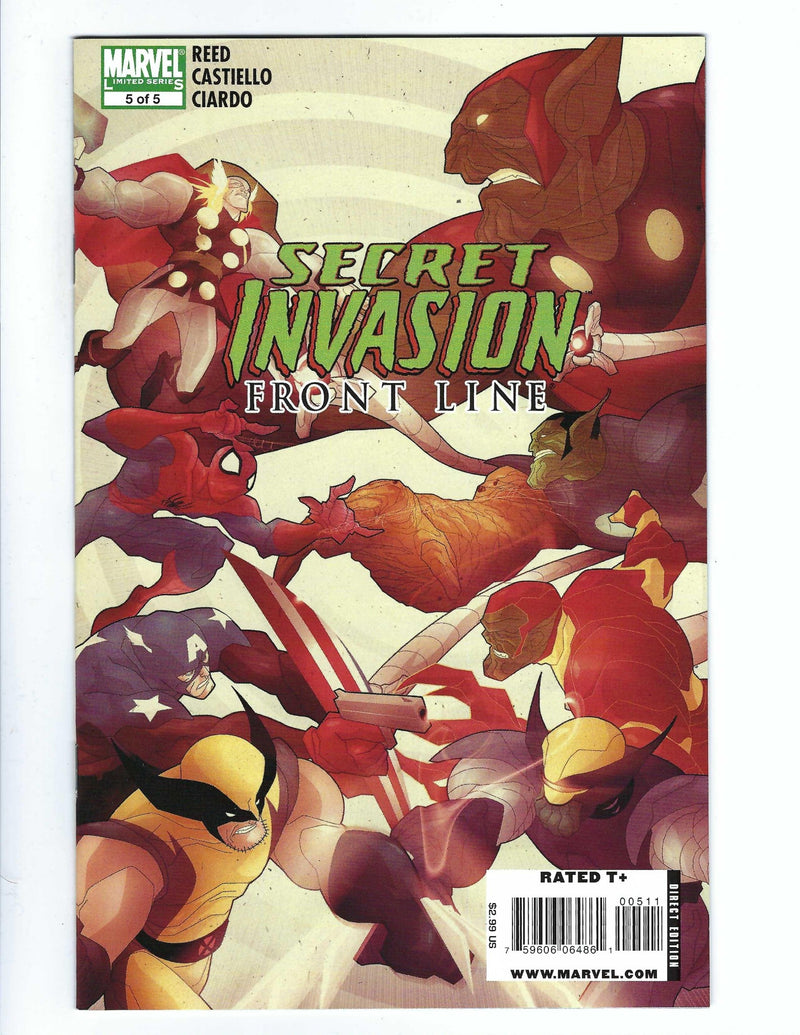 Secret Invasion Front Line 5