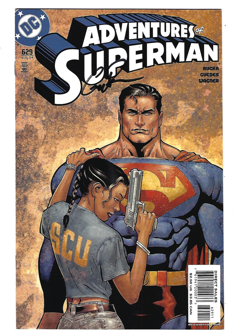 Adventures of Superman 629 Signed