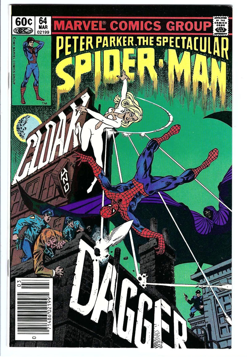 Spectacular Spider-Man Vol 1 64 Newsstand VF/NM