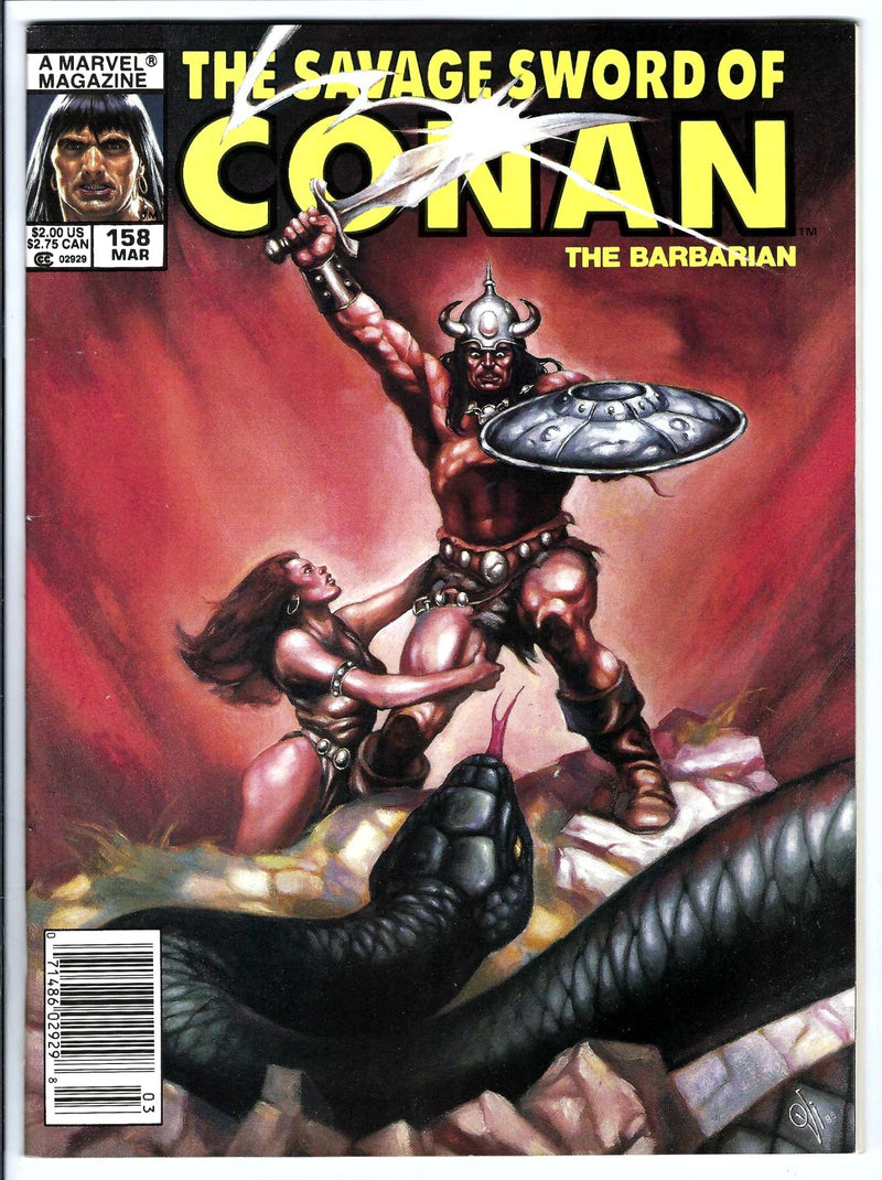 Savage Sword of Conan Vol 1 158 Newsstand