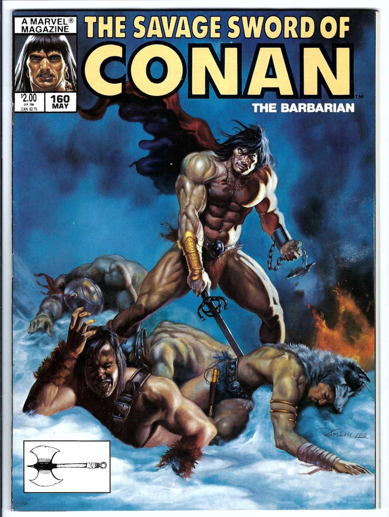 Savage Sword of Conan Vol 1 160