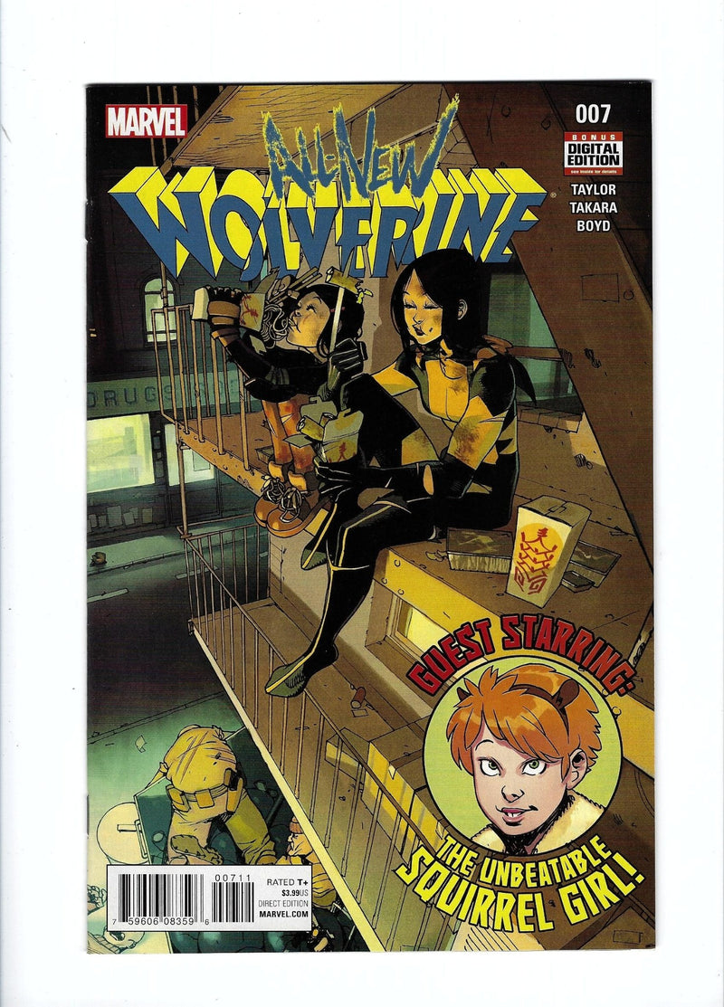 All New Wolverine 7