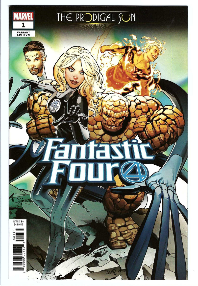 Fantastic Four Prodigal Sun 1 Variant