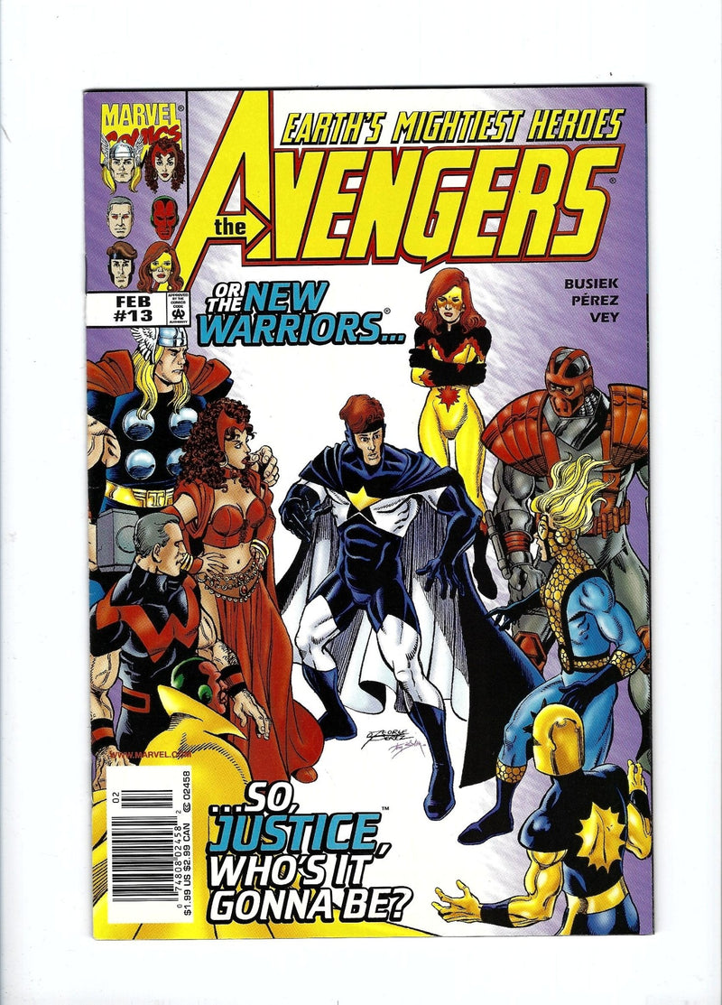 Avengers Vol 3 13 Newsstand