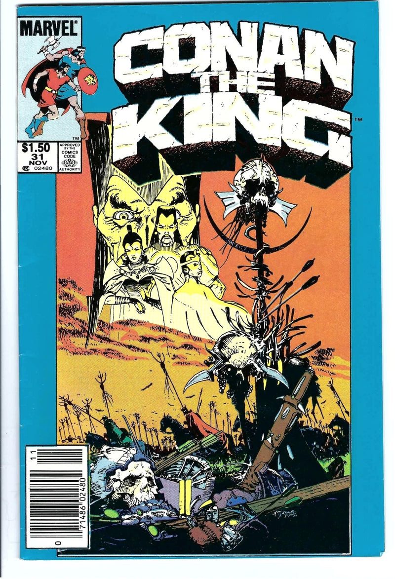 Conan the King 31 Variant-Marvel-CaptCan Comics Inc
