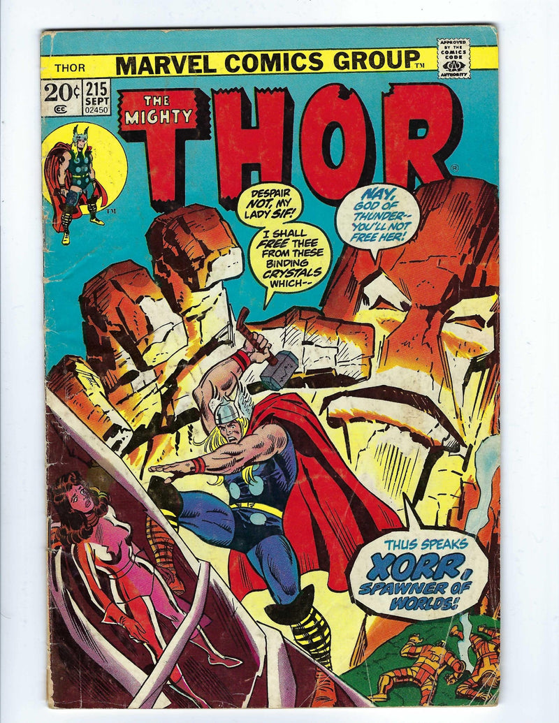 Thor Vol 1 215-Marvel-CaptCan Comics Inc