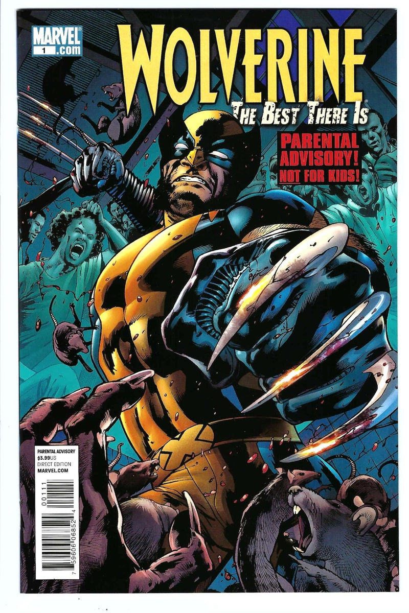 Wolverine the Best There Is 1
