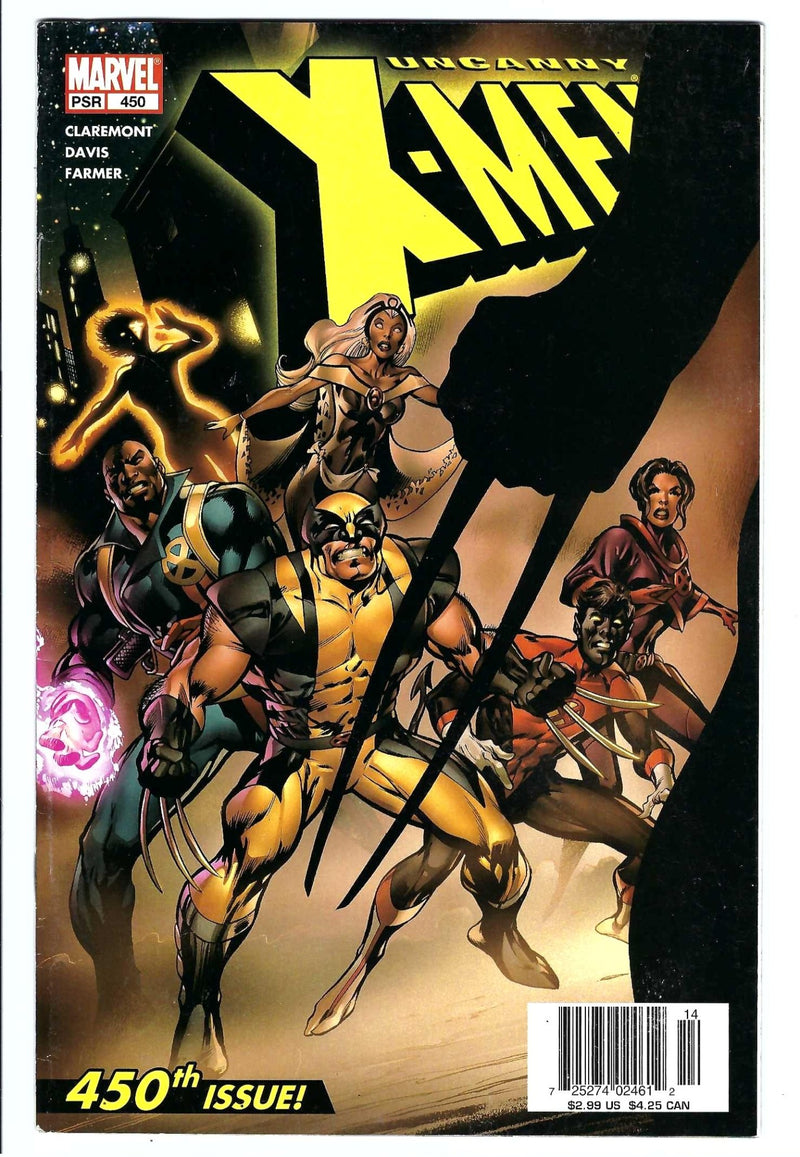 Uncanny X-Men Vol 1 450 Newsstand