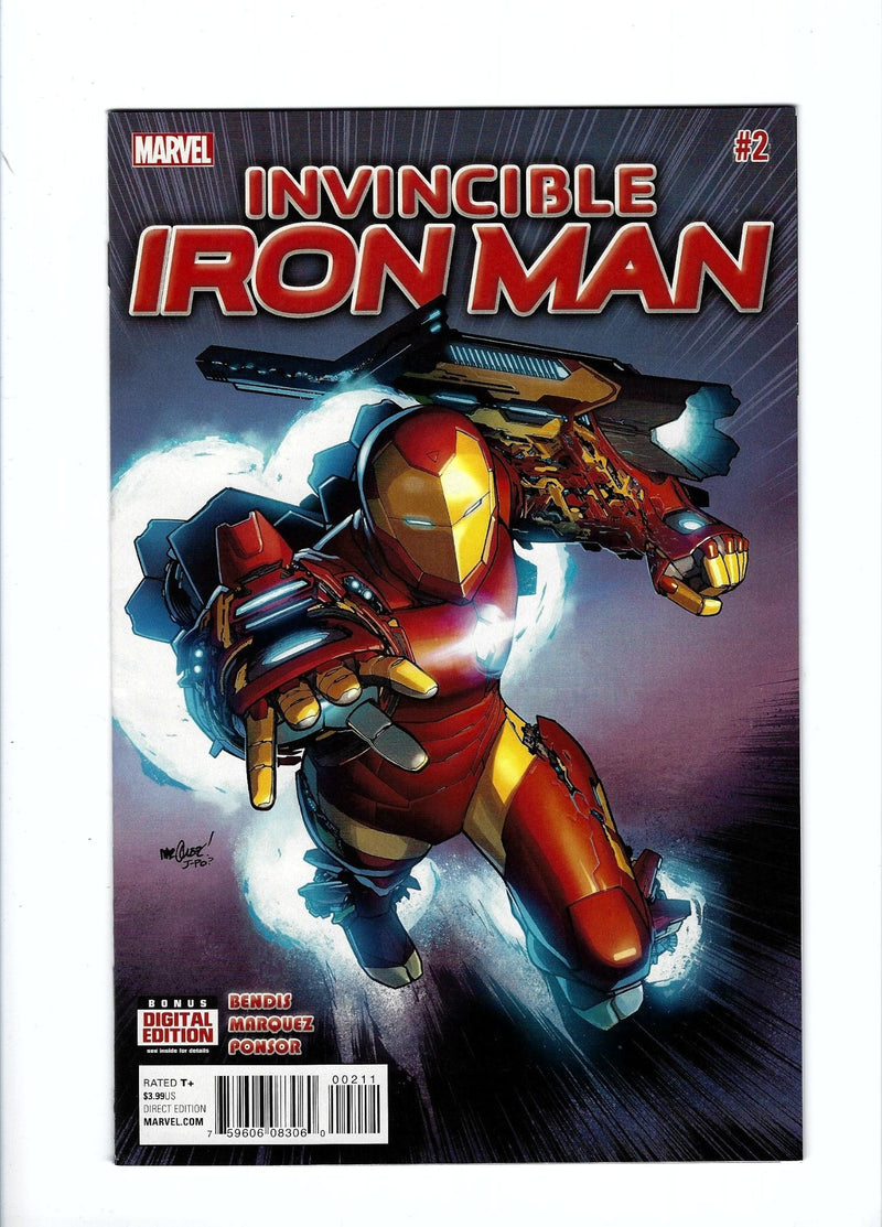 Invincible Iron Man Vol 2 2-Marvel-CaptCan Comics Inc