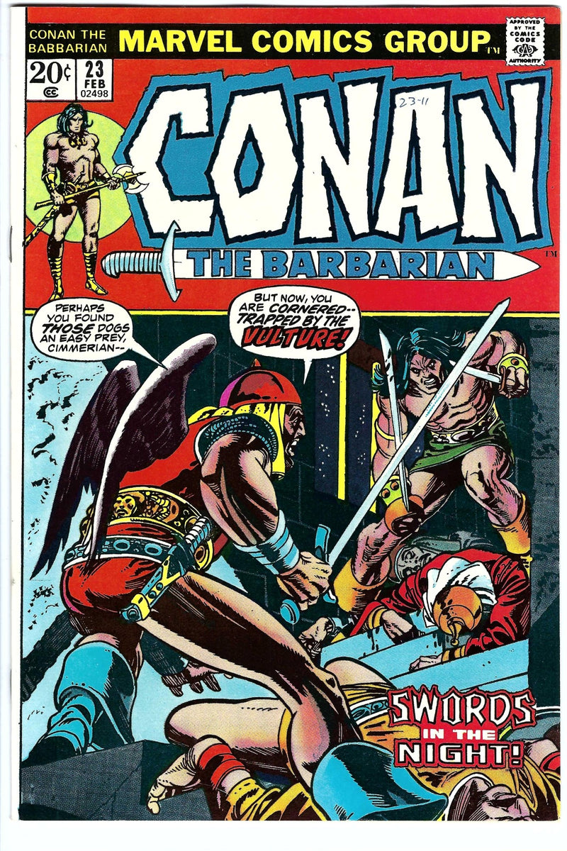 Conan the Barbarian Vol 1 23 NM-