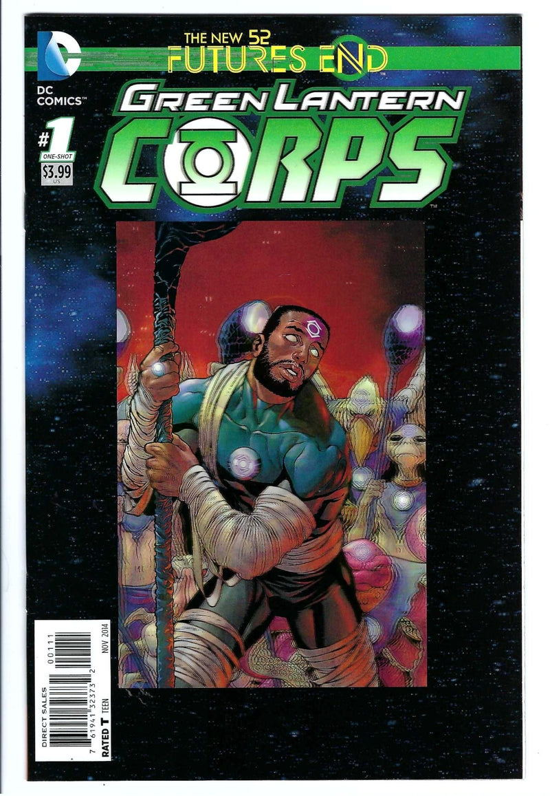 New 52 Futures End Green Lantern Corps 1