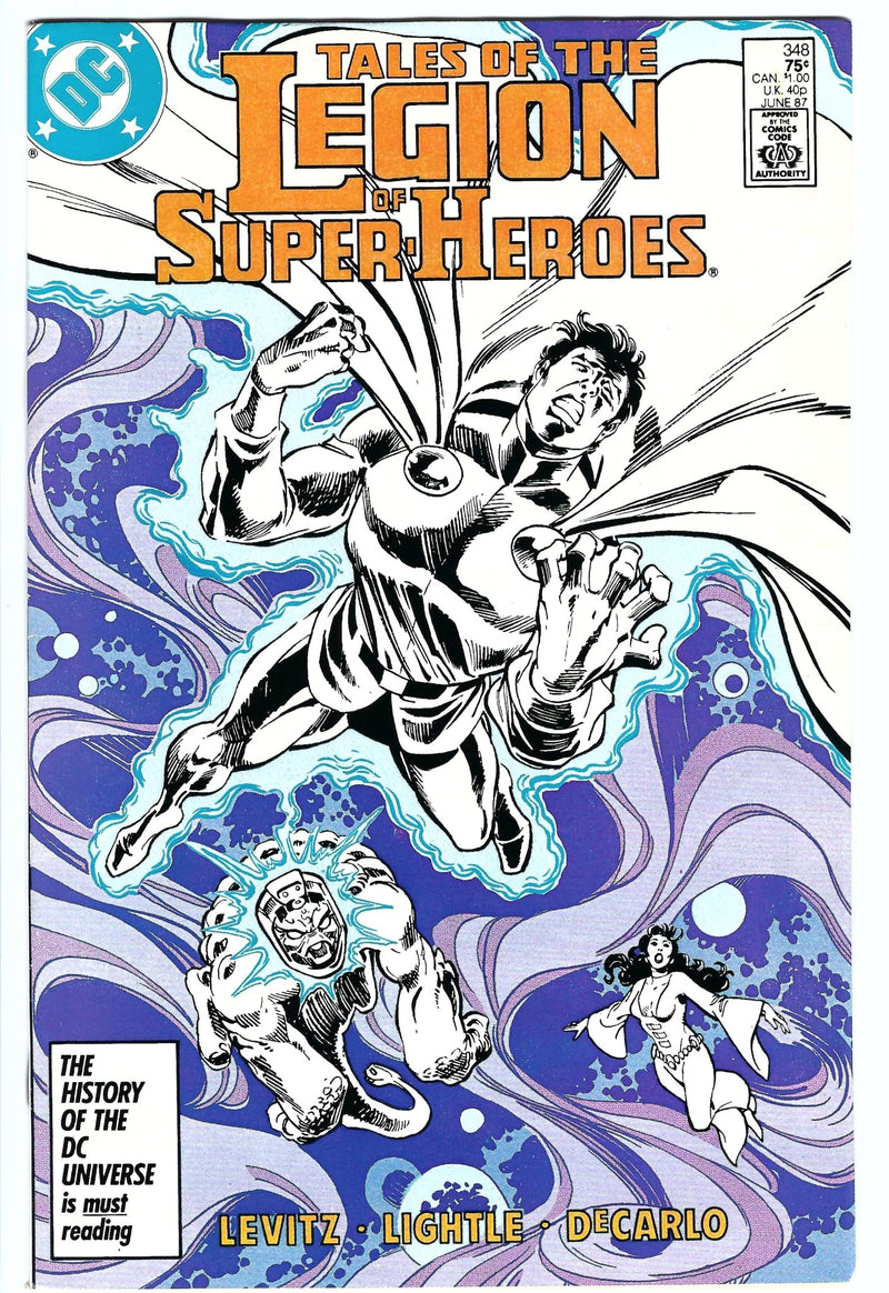 Tales of the Legion of Super-Heroes 348