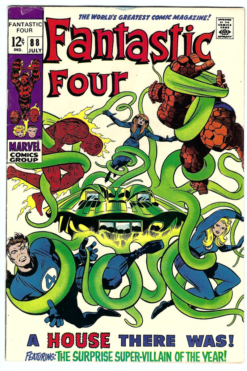 Fantastic Four Vol 1 88 F+