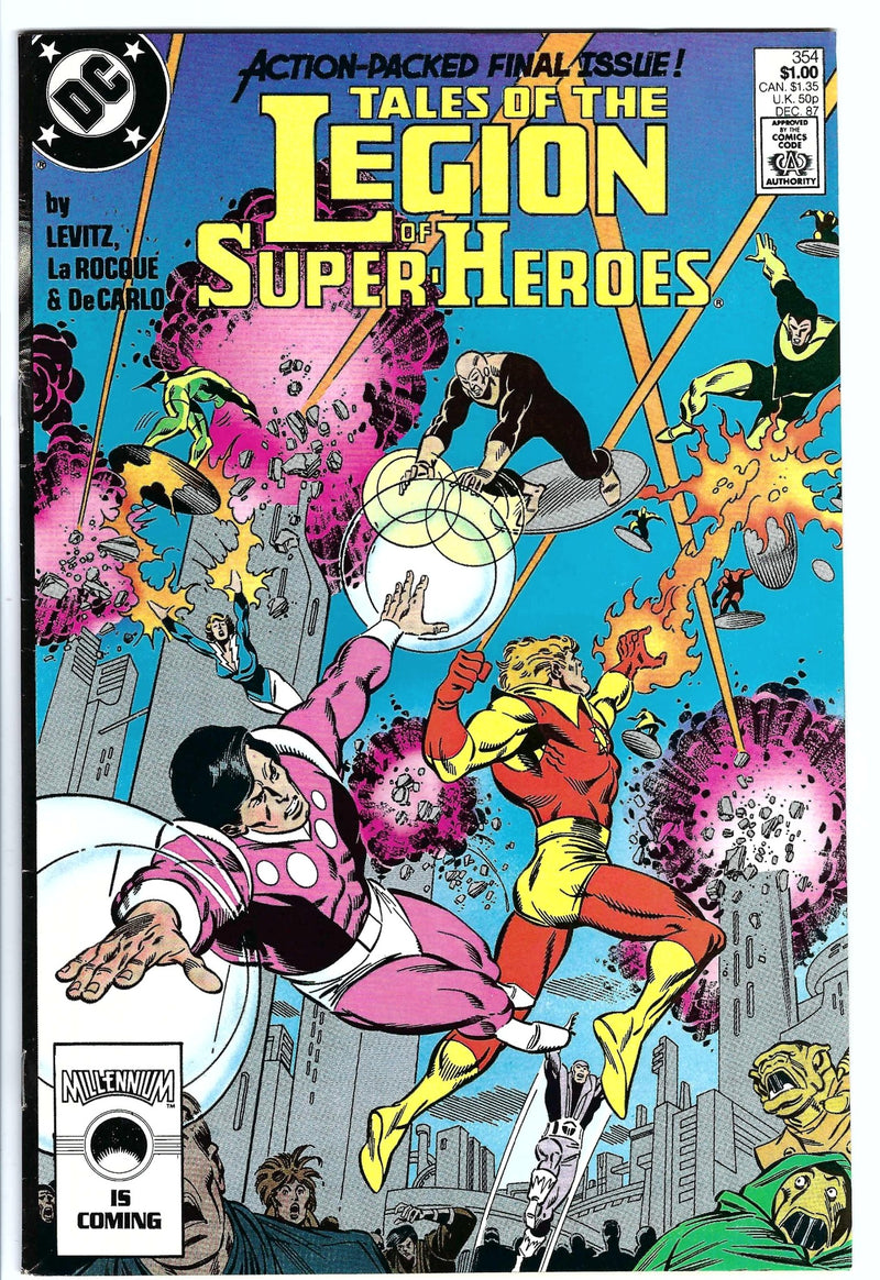 Tales of the Legion of Super-Heroes 354
