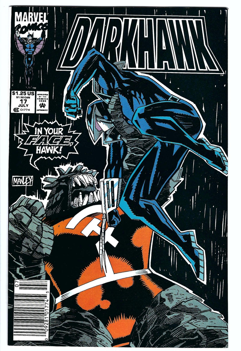 Darkhawk 17 Newsstand